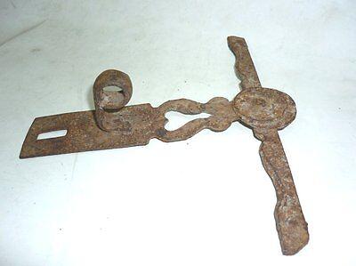 Antique Ottoman Handforged Iron ClothesHanger 18 Century 3