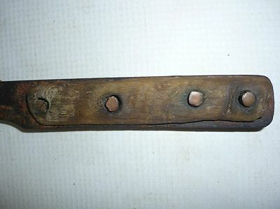 Antique Ottoman Knife Horn Handle 18 Century 6