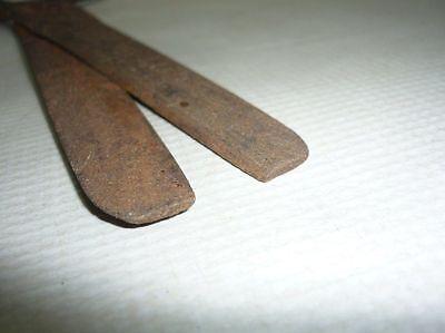 Antique Ottoman Handforged Iron Sewing  Scissors 18 Century 6