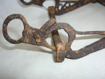 Antique Ottoman Iron Horse Bit Harness Bridle Handforged MUST SEE 11