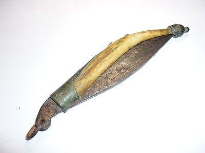 Antique Ottoman Handmade Pocket Folding Knife 18 Century RARE 7