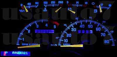 Dash Cluster Gauge PURPLE LED LIGHT KIT Fit 90-94 Chevy GMC Suburban non digital