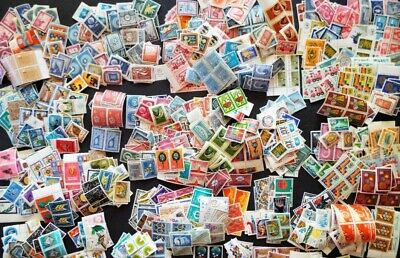 1000s DIFFERENT Mint/Used WORLDWIDE Stamps Collection Lot Pack of 100 - BONUS!!! 7