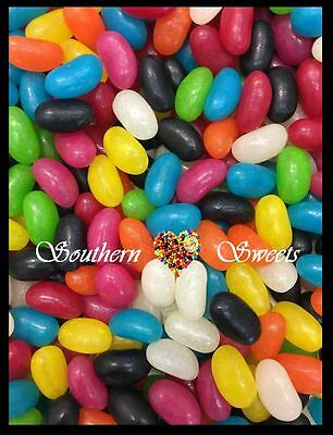Prydes Assorted Jelly Beans Made In Australia Rainbow  Mixed Lollies 1Kg