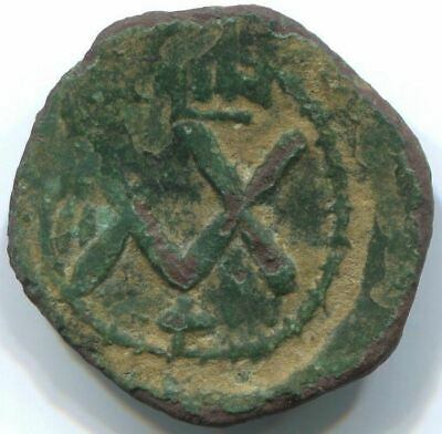 Authentic BYZANTINE EMPIRE Coin 5,5 g/23 mm ANT1391.27 4