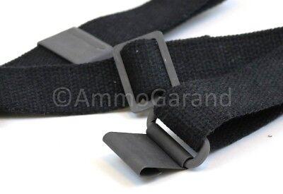 Black Cotton Web Sling for M1 Garand WWII-Vietnam USGI Style *US Made* 2