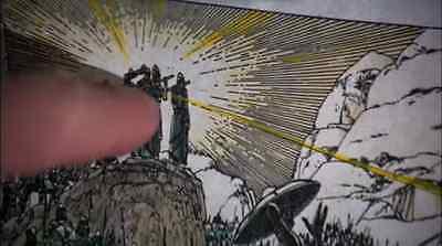 RAIDERS OF THE LOST ARK Ralph McQuarrie ARK OF COVENANT Art Print INDIANA JONES! 3