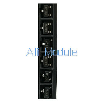 100 PCS XC6206P332MR SOT-23 XC6206P332 662 Positive Voltage Regulator