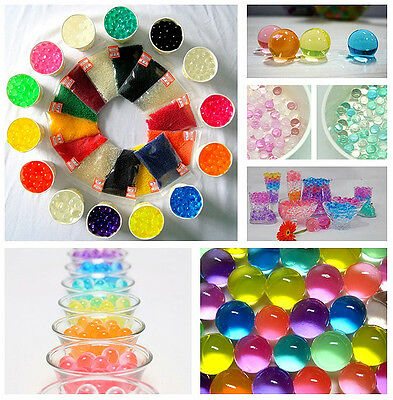 Round Color Beads for Candle Holders Vase Votive Gel 1-Ounce Bag makes 1 Gallon 4