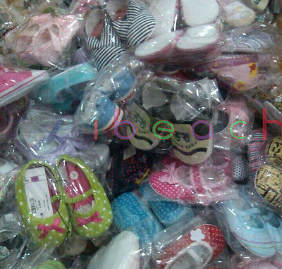 Wholesale Infant Baby Boy Girl First Crib Shoes Job Lots Newborn to 18 Months 5