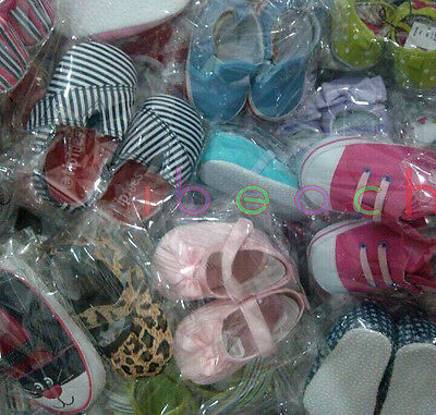Wholesale Infant Baby Boy Girl First Crib Shoes Job Lots Newborn to 18 Months 8