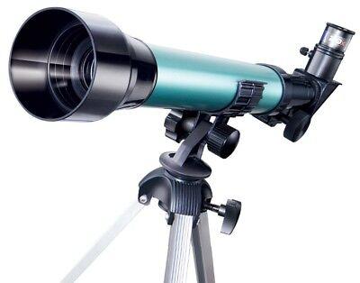 Telescopio Monoculare Astronomico Rifrangente Treppiede Cavalletto 20X 30X 40X 5