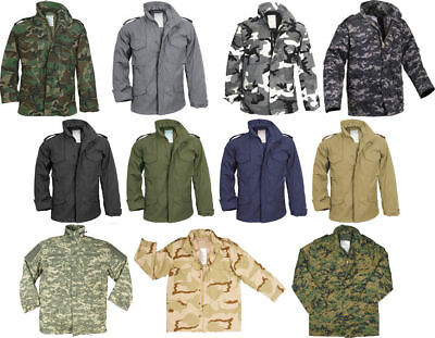e0839dca28f1b ... Camo Military M-65 Field Coat Camouflage Army M65 Tactical Uniform  Jacket M1965 2