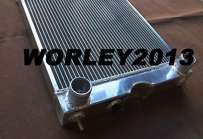 Aluminum radiator + fan for Ford 2N / 8N / 9N tractor w/flathead V8 engine MT