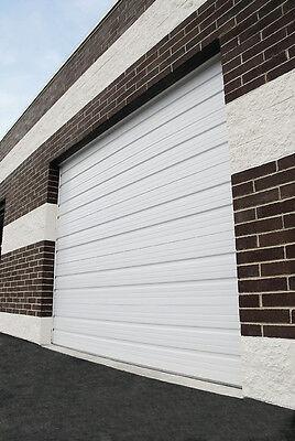 Duro Steel Amarr 2412 Series 8'W X 8'T Commercial INSULATED Overhead Garage Door