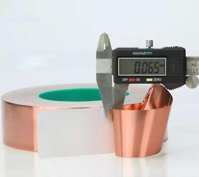 Copper Foil Shielding Tape Electric Guitar Bass 50mm x 2m Conductive Adhesive 11