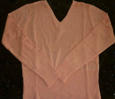 Sonder Posten 10x Damen Pullover Paket V Pulli Feinstrick rosa S 36/38 NEU TOP