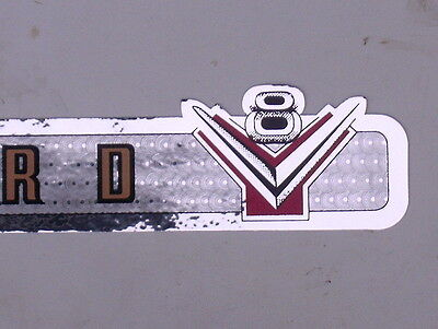 55 1955 FORD 272 ENGINE VALVE COVER DECAL SET NEW 292 312
