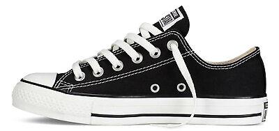 Sneakers CONVERSE Chuck TaylorAll Star Scarpe Basse Uomo//Donna M9166C NERO