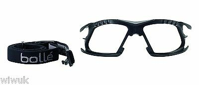 Bolle Rush PLUS + Adjustable Sports Style AS AF Safety Glasses Specs Spectacles