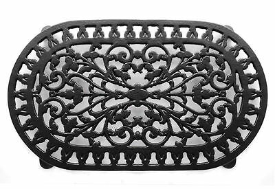 Victor Robert Welch Cast Iron Trivet Pan Stand Pot Double ~ Black ~ Vcw315 3