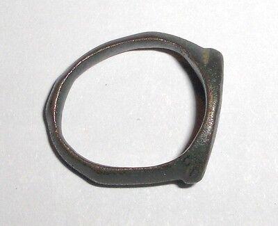 Ancient Roman Empire, 1st - 3rd c. AD. Bronze Ring.