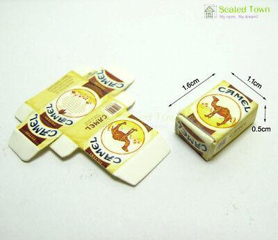 2pcs Dollhouse Miniature 1:12 Cigarette Tobacco Pack Model Bar Room Store Decor 2
