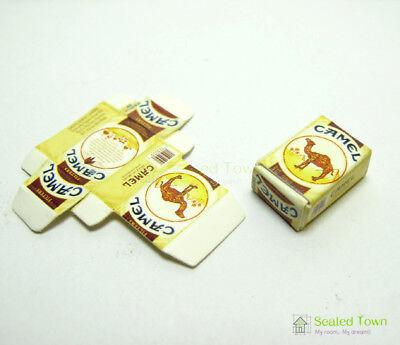 2pcs Dollhouse Miniature 1:12 Cigarette Tobacco Pack Model Bar Room Store Decor 12
