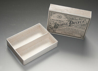Packung ENGLISCHES BRAUSE PULVER um 1900