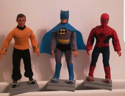 """Vintage He Man MOTU,Star Wars Black Series 6/"""" A-Team Display Figure Stands"""