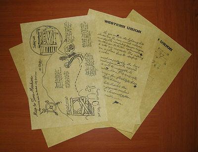 Ritorno Al Futuro 3 - Lettera Di Doc Dal West Nel 1885 A Marty Nel 1955, Replica 3