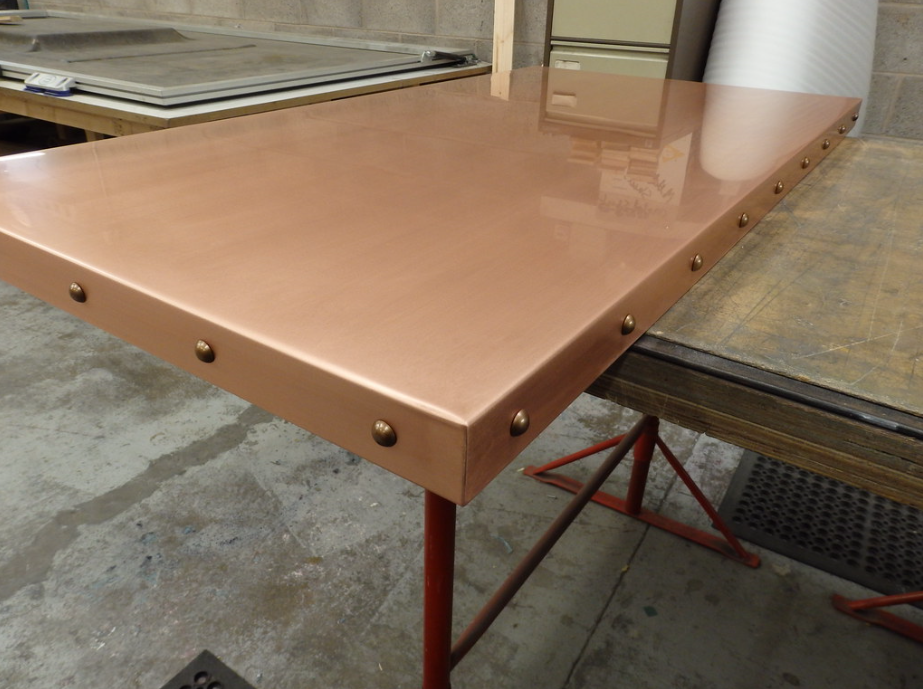 Copper Sheet plate guillotine Offcuts - Many thickness and sizes 2