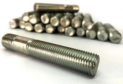 20 NERO M12 x 1.5 75mm Stud Kit di conversione per Vauxhall Inc Nuts