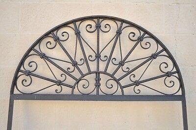 Vintage Ornate Wrought Iron Door Arch Frame Patio Garden Element B 98 x 39 6
