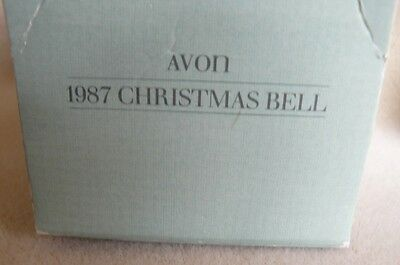 """1987 Avon """"CHRISTMAS BELL"""" hand painted"""