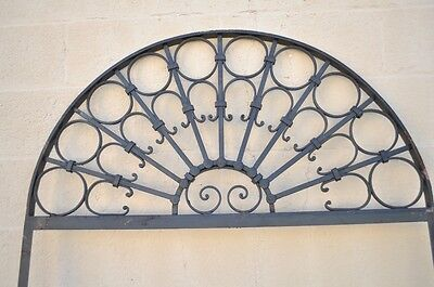 Vintage Ornate Wrought Iron Door Arch Frame Patio Garden Element C 99 x 41 2