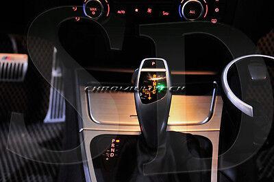 LHD BMW 3 Series E36 M M3 GT Chrome Gear Frame Bezel Surround Shift Stick Knob