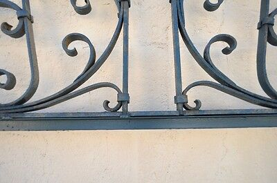 Vintage Ornate Wrought Iron Door Arch Frame Patio Garden Element A 90 x 46 4