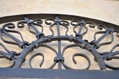Vintage Ornate Wrought Iron Door Arch Frame Patio Garden Element D 92 x 42 5