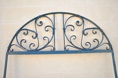 Vintage Ornate Wrought Iron Door Arch Frame Patio Garden Element A 90 x 46 2