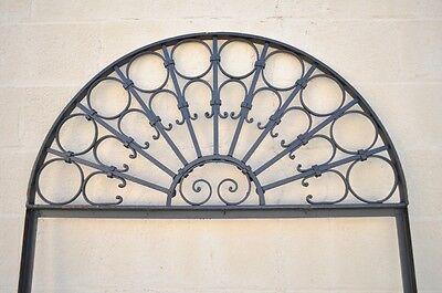 Vintage Ornate Wrought Iron Door Arch Frame Patio Garden Element C 99 x 41 7