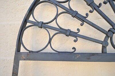 Vintage Ornate Wrought Iron Door Arch Frame Patio Garden Element C 99 x 41 4