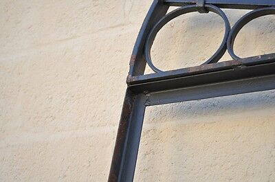 Vintage Ornate Wrought Iron Door Arch Frame Patio Garden Element C 99 x 41 6