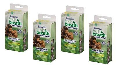 TropiClean Clean Teeth Gel For Dogs Promotes Strong Teeth & Healthy Gums 4 oz 6