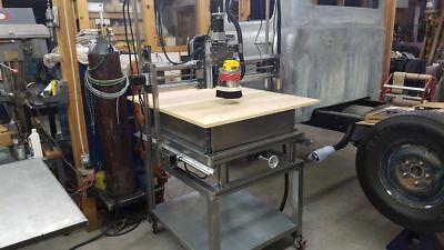 Business & Industrial CNC Plasma Table Plans & Construction Manual ...