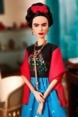 ❤ Frida Kahlo Mattel Barbie Doll Inspiring Women Series Mexican Artist IN STOCK❤ 8