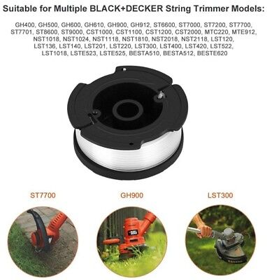 Black Decker String Trimmer Line Spool Replacement Weed Eater Grass Edger 4 Pack 10 49 Picclick