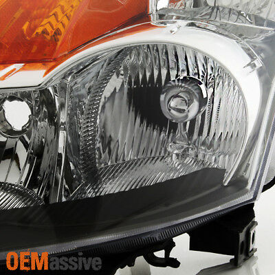 Fits 2007 2008 2009 Altima 4Dr Sedan Clear Headlights Headlamps Replacement Set 4