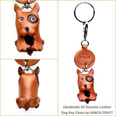 Yorkshire Terrier Handmade 3D Leather Dog//Bag Charm *VANCA* Made in Japan #26016