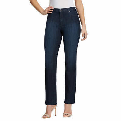 Gloria Vanderbilt Ladies' Amanda Denim Jeans – DARK BLUE PORTLAND (Select Size) 2